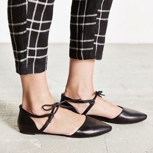 Jeffrey Campbell enamored cut out flat